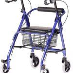 Listado de andador 4 ruedas con asiento en promoción