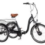 Catálogo de triciclos adultos canasta delantera eléctrica en oferta
