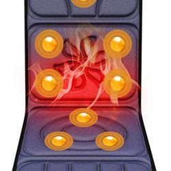 colchoneta masajes 10 motores con calor lumbar - Listado esta semana